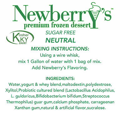 Neutral Sugar free